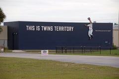Este é território dos gêmeos Imagens de Stock