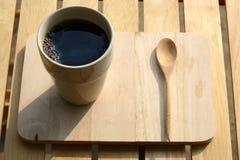 Um copo do café preto Fotografia de Stock Royalty Free