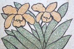 Mármore da textura da flor Foto de Stock Royalty Free