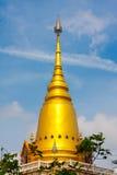 Este é um pagoda dourado Fotografia de Stock
