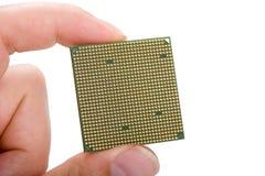 Este é um processador central Foto de Stock