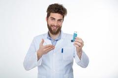 Este é um remédio para a alergia Fotos de Stock