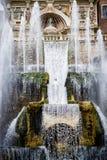 ` Este виллы d в Tivoli, Риме Италия Стоковое Фото