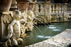 ` Este виллы d в Tivoli, Риме Италия Стоковая Фотография RF