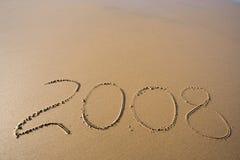 Este año 2008 Fotos de archivo libres de regalías