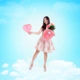 Este amor me lleva al cielo Imagen de archivo libre de regalías