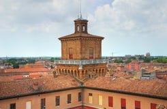 The Este Castle. Ferrara. Emilia-Romagna. Italy. Royalty Free Stock Image