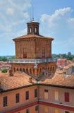The Este Castle. Ferrara. Emilia-Romagna. Italy. Royalty Free Stock Photos