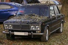 Este coche consigue hecho en la URSS Fotografía de archivo libre de regalías