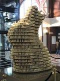 Este conejito asombroso del chocolate imagenes de archivo