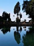 `-Este för villa D reflexioner i Tivoli Royaltyfria Bilder