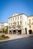 Este Italy Palazzo del Municipio. Este, Italy, 22 Apr 2017 - Palazzo del Municipio town hall building in Este main square Stock Photo