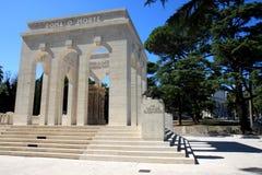 Mausoléu do Ossuary de Janiculum em Roma, Italia Fotografia de Stock