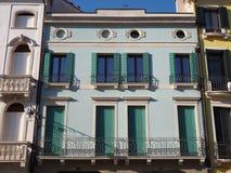Este, Padoue, Italie La place principale et ses bâtiments vénitiens de style image libre de droits