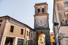 Este Padua the tower named Torre Civica della Porta Vecchia Royalty Free Stock Image