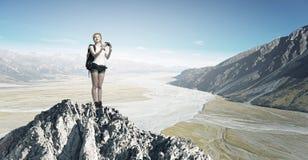 ¡Este paisaje toma una respiración! Foto de archivo libre de regalías