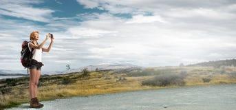 ¡Este paisaje toma una respiración! Imagen de archivo libre de regalías