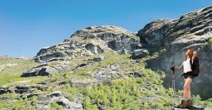 ¡Este paisaje toma una respiración! Imagen de archivo