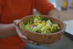 Este plato es bueno para la salud Fotos de archivo