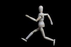 Este robô está movendo-se como um ser humano Imagens de Stock