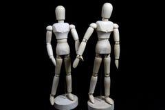 Este robô está movendo-se como um ser humano Foto de Stock Royalty Free