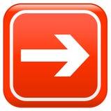 Este sinal da maneira ilustração stock