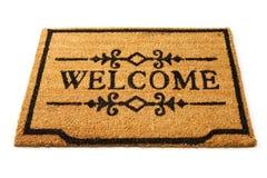 Esteira bem-vinda Imagens de Stock Royalty Free