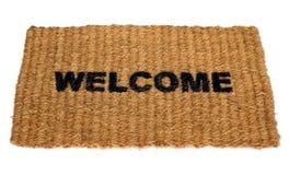 Esteira bem-vinda Imagem de Stock Royalty Free
