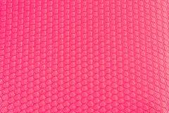 Esteira cor-de-rosa da ioga Fotos de Stock Royalty Free