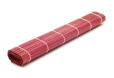 Esteira de bambu Fotografia de Stock Royalty Free