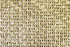 Esteira de bambu Imagem de Stock