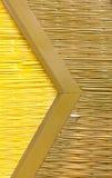 Esteira de bambu. Imagens de Stock