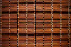 Esteira de bambu Foto de Stock