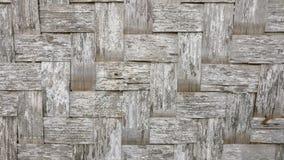 Esteira de bambu tradicional Imagem de Stock