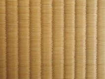 Esteira de Tatami, assoalho japonês Imagens de Stock Royalty Free