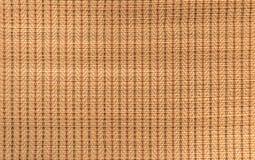 a esteira handcraft a textura do weave do rattan para o fundo Foto de Stock Royalty Free