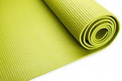 Esteira verde do exercício Imagens de Stock Royalty Free
