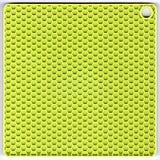 Esteira verde do silicone Imagem de Stock
