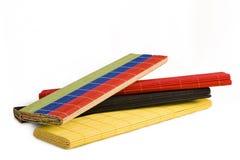 Esteiras de bambu Imagem de Stock
