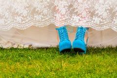 Esteja para fora o casamento Fotografia de Stock Royalty Free