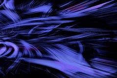 Estela azul Foto de archivo libre de regalías