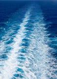 Estela del océano Imagen de archivo libre de regalías