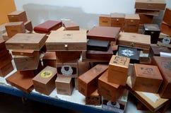Esteli雪茄工厂 库存照片