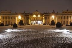 Estense宫殿,瓦雷泽 库存照片