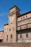 Estense Castle. Ferrara. Emilia-Romagna. Italy. Royalty Free Stock Image