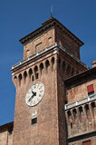 Estense Castle. Ferrara. Emilia-Romagna. Italy. Royalty Free Stock Photography