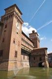 Estense Castle. Ferrara. Emilia-Romagna. Italy. Royalty Free Stock Images
