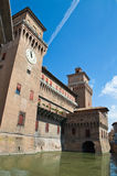 Estense Castle. Ferrara. Emilia-Romagna. Italy. Stock Photo