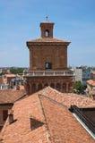 Estense Castle. Ferrara. Emilia-Romagna. Italy. Stock Images