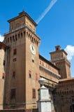 Estense Castle. Ferrara. Emilia-Romagna. Italy. Royalty Free Stock Photo